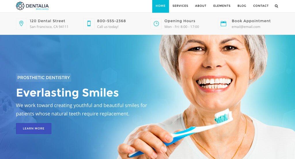 Dental Website 2