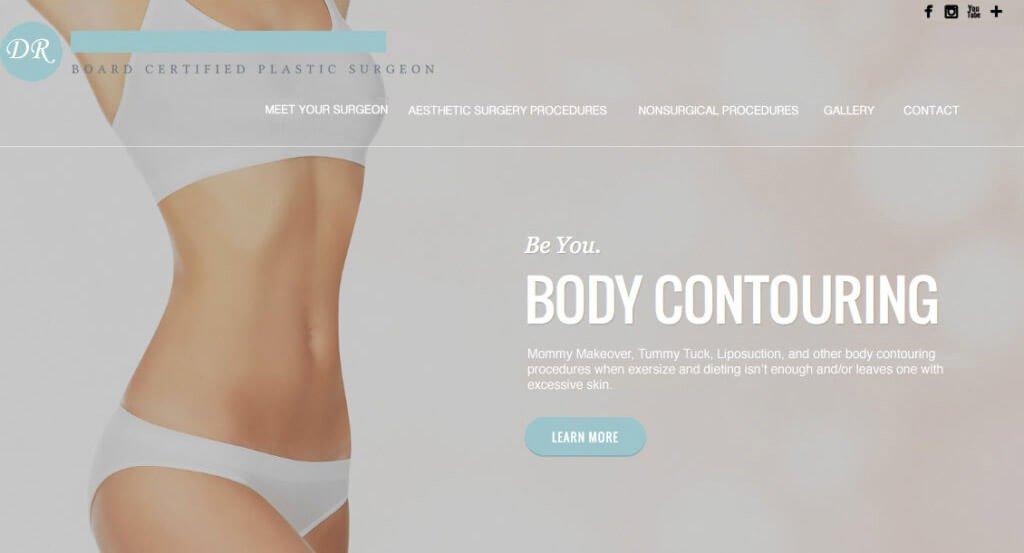 body cont website